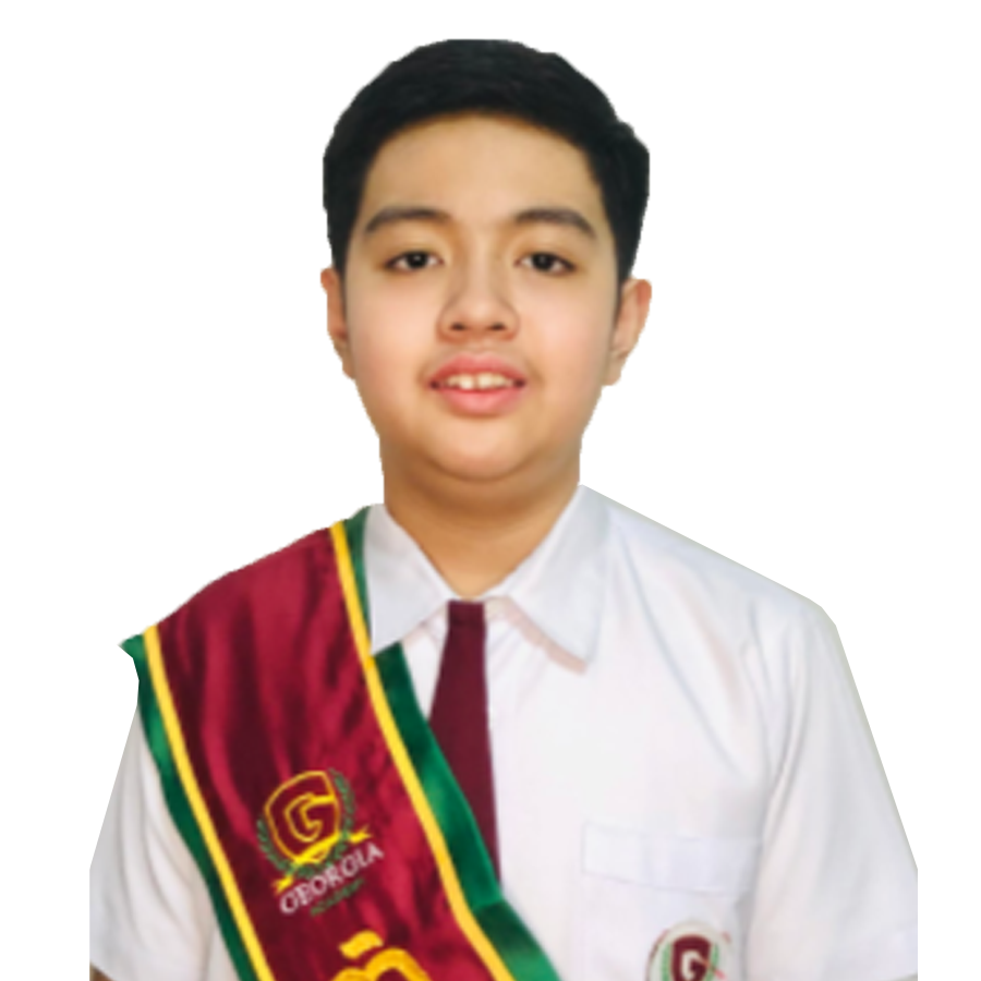 Leyve top student in a elementary in private school in Antipolo