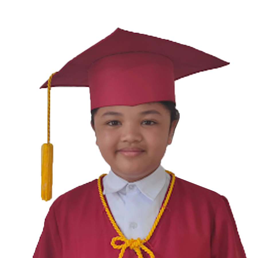 Tan top student in Elementary in a private school in CDO